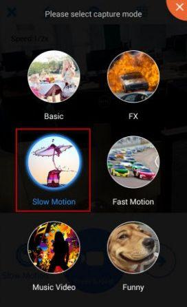 Effetto Moviola Android