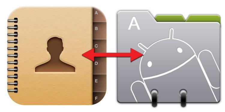 Passare la rubrica da iPhone a Android