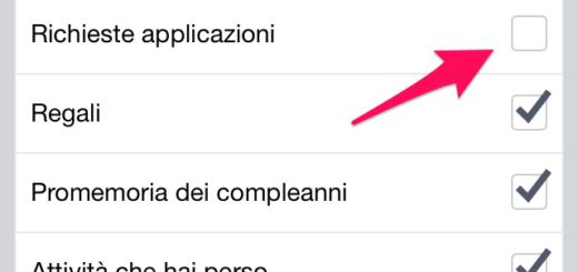 Come bloccare le richieste dei giochi su Facebook da iPhone