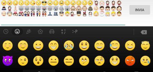 Come avere emoticon tastiera Android