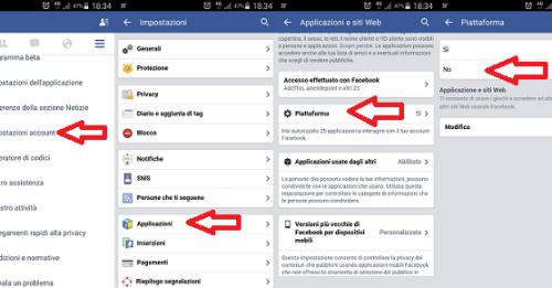 Facebook: come bloccare gli inviti ai giochi per Android