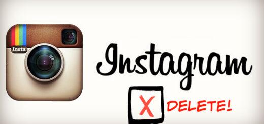 Come eliminare foto da Instagram