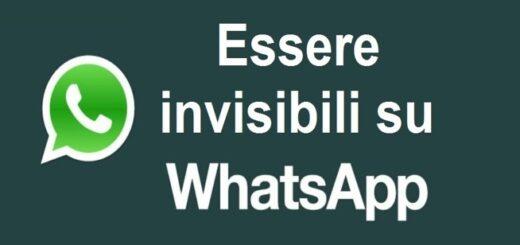 Essere Invisibili Whatsapp
