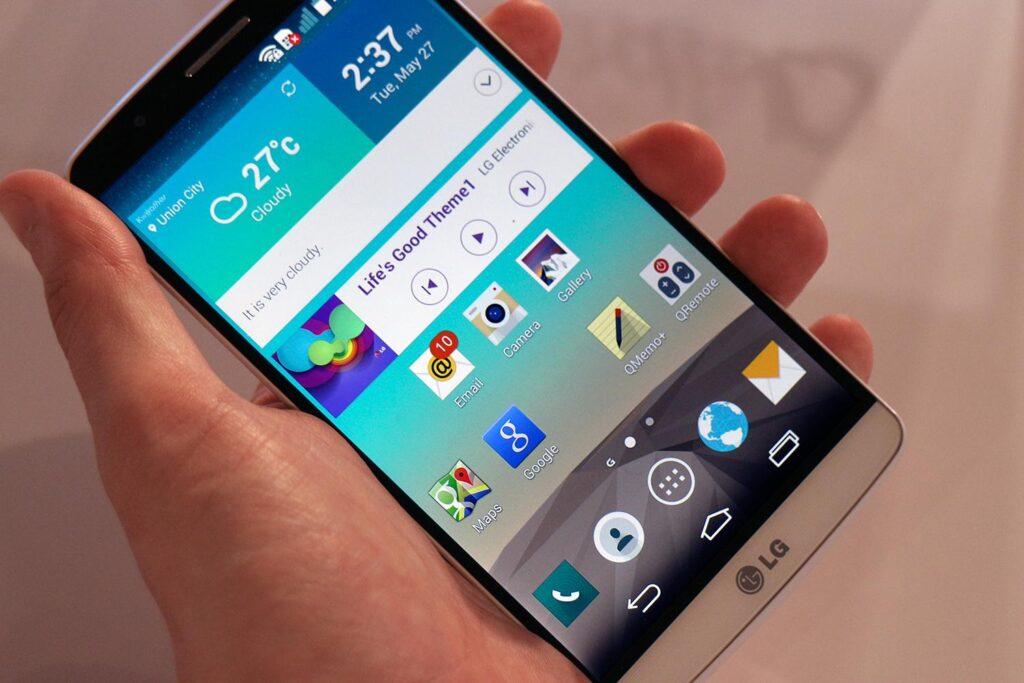 Fare Screenshot LG G3