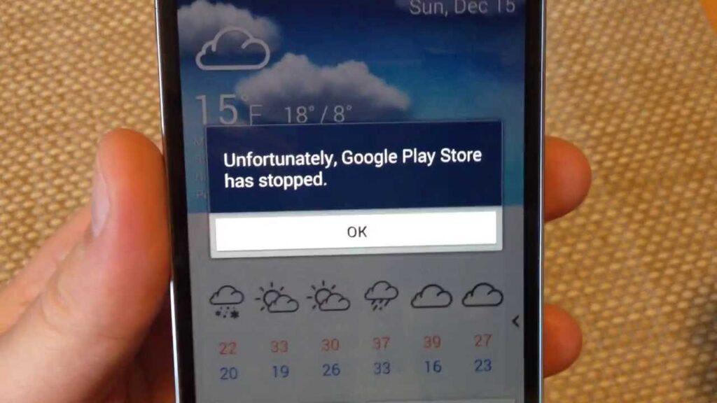 Come fare se Google Play Store non funziona