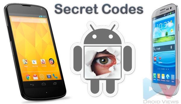 Codici Segreti Android