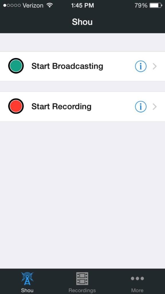Come fare video dello schermo con iPhone