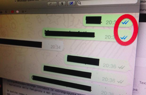 Come disattivare le spunte blu su Whatsapp