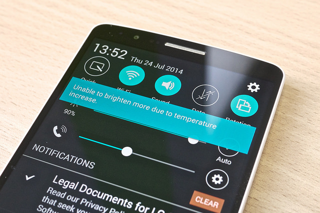 LG G3 Surriscaldamento Risolto