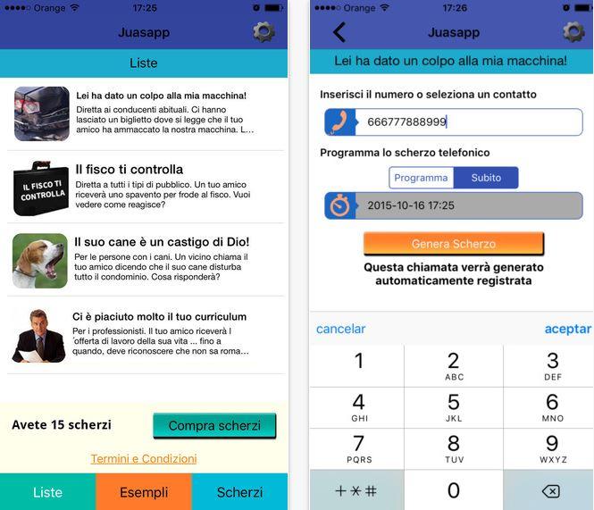 App Scherzi Telefonici