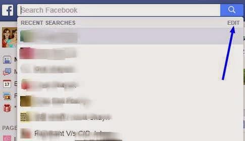 come cancellare cronologia facebook android