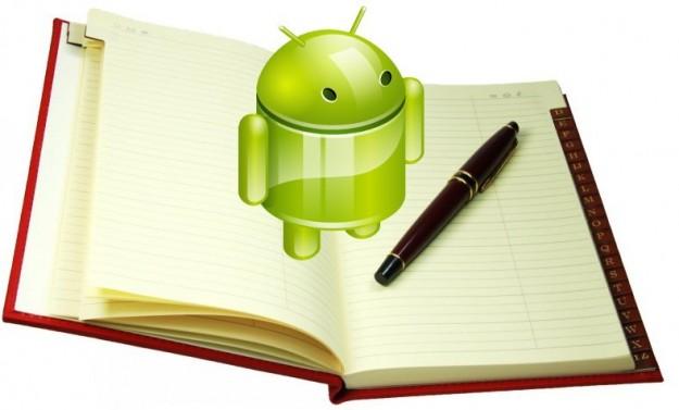 android come fare backup rubrica