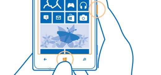 Come fare screenshot su Nokia Lumia