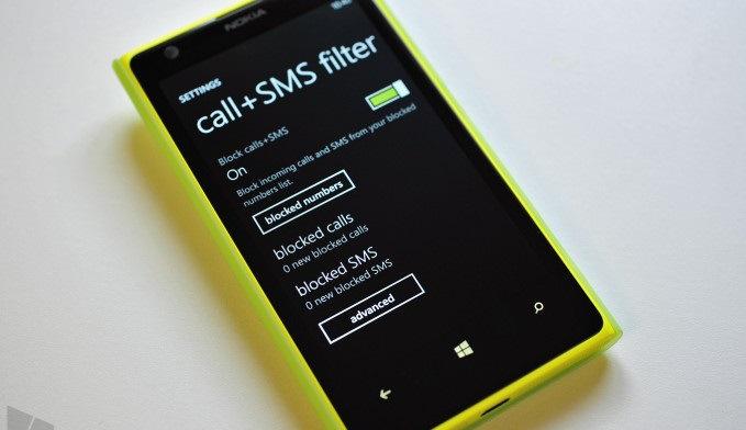 Nokia Lumia come bloccare un numero