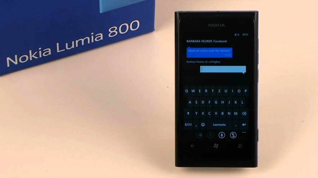 Nokia Lumia problema SMS