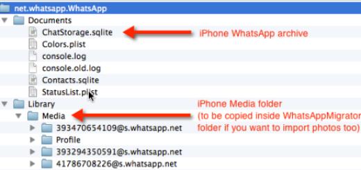 trasferire cronologia whatsapp da iphone a android