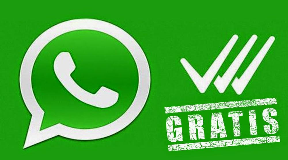 Whatsapp gratis per sempre Android