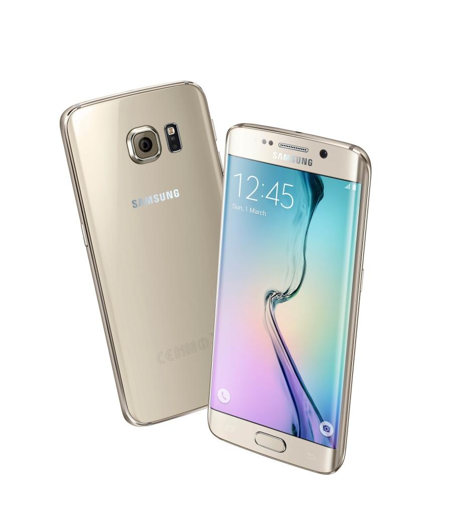 Galaxy S6 Edge Oro Platino