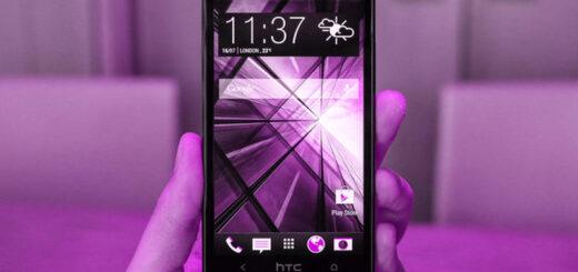 HTC One problema foto viola
