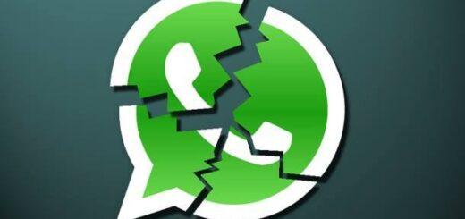 Whatsapp si è bloccato in modo anomalo