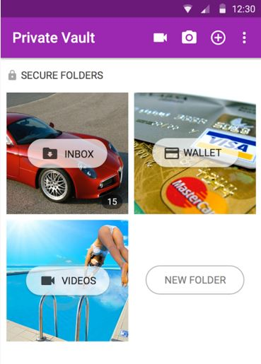 l 39 app per nascondere foto e video su android golook. Black Bedroom Furniture Sets. Home Design Ideas