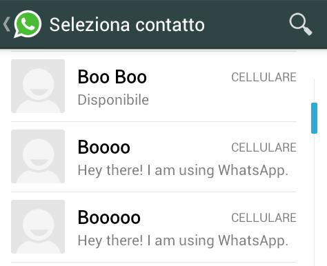 Foto profilo Whatsapp non si vede