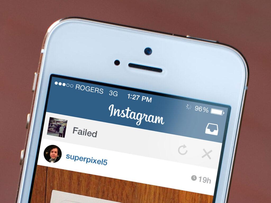 Instagram non aggiorna il Feed