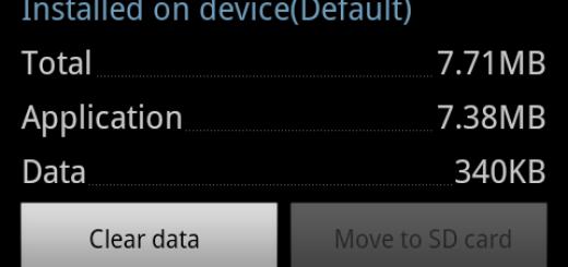 Svuotare cache applicazioni su Android