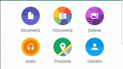 Inviare Documenti Whatsapp