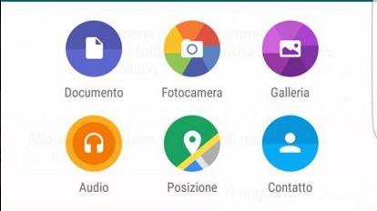 Inviare Documenti Whatsapp