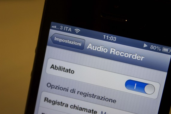 registrare le chiamate su iPhone