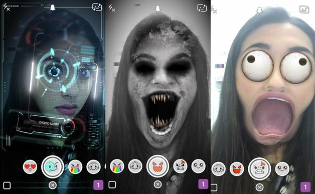 Snapchat come si usano gli effetti