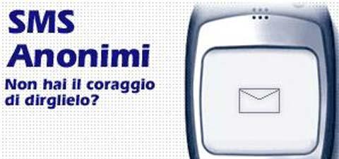 Inviare SMS Anonimi Tim