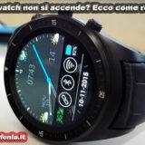 smartwatch non si accende