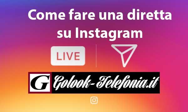 come fare diretta su instagram
