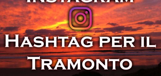 hashtag tramonto