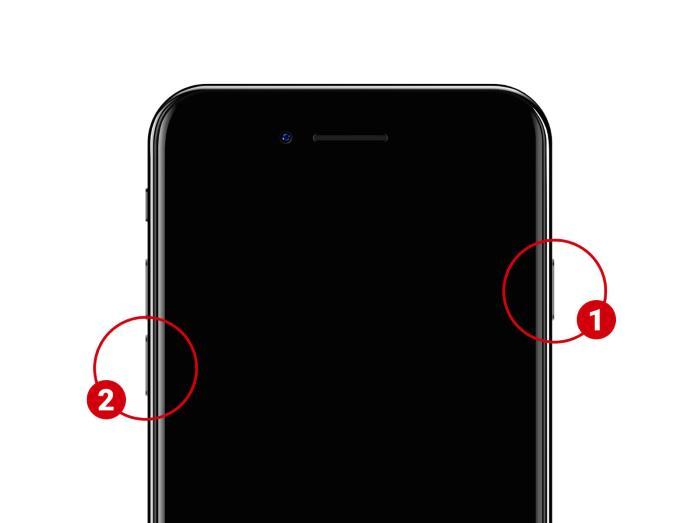 tasto accensione iphone 7 non clicca