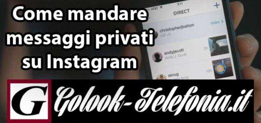 Mandare messaggi privati instagram