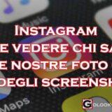 Instagram chi salva le nostre foto o fa degli screenshot