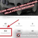 Come vedere le visualizzazioni delle foto su Instagram