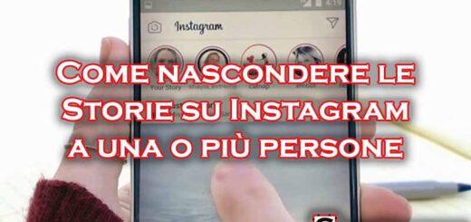 come non far vedere le storie su instagram