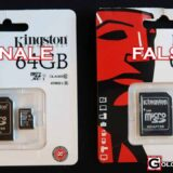 Riconoscere Micro SD Kingston Falsa