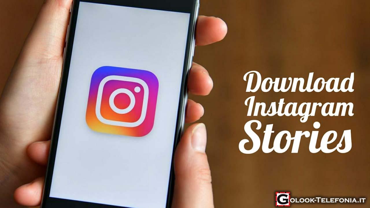 scaricare instagram stories