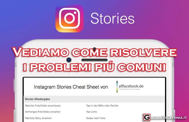 instagram stories problemi