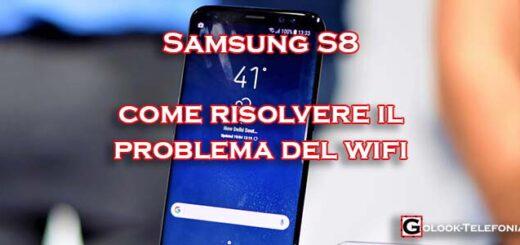 samsung s8 problema wifi