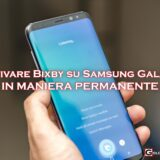 Disattivare Bixby S8