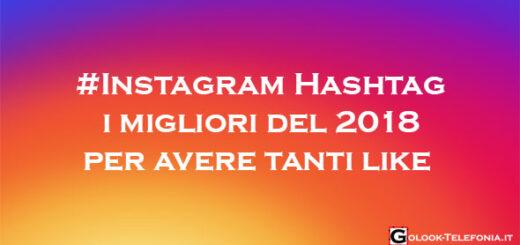 Instagram Hashtag 2018