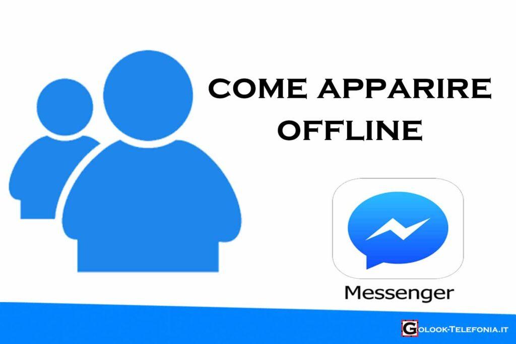 come mettersi offline messenger