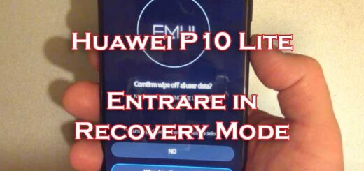 recovery mode huawei p10 lite