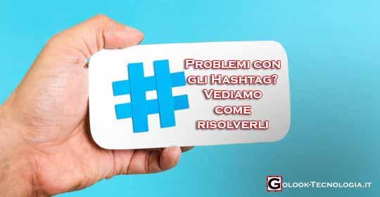 problema hashtag instagram